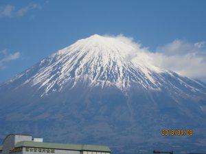 この春に撮影した「雄大な富士山・Mt.FYJIYAMA」